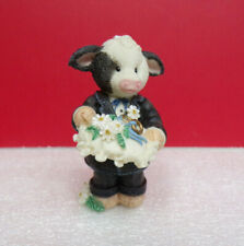 Mary's Moo Moos Ring Bearer Wedding Party Cow Figurine