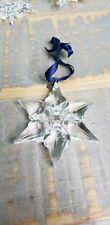 Swarovski Crystal Snowflake 2000 Christmas Ornament