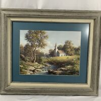 Larry L.W. Dyke Psalm 84:10 Print Custom Framed & Matted Signed Church