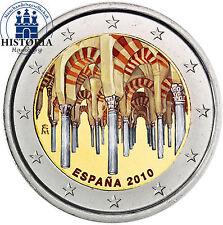 Spanien 2 Euro Gedenkmünze 2010 bfr. Die Mezquita Catedral von Cordoba in Farbe