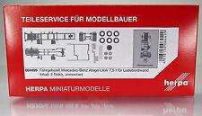 Herpa LKW  084499  Fahrgestell Mercedes Atego LKW 7,5 t für Ladebordwand 2xStück