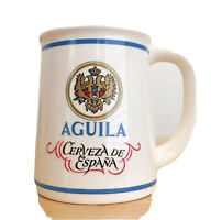 Limited Edition Aguila Mini Beer Mug Tankard Vintage Franklin Porcelain ~ 1980