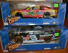 PAIR OF LARGE 1/18 SCALE DALE EARNHARDT DIE-CAST CARS NASCAR # 3 OREO + 1 MORE