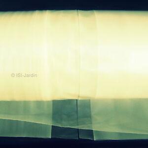 POLYANE 4F 200µ pour tunnel, film transparent jaune 8m x 5m