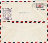 US 1940 FAM 20 FIRST FLIGHT AIR MAIL FLOWN COVER SEATTLE WASH TO JUNEAU ALASKA
