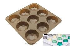 1 x Silicone Mould Gem Diamond Oreo Baking Chocolate Candy Jelly Mold 9 Cavity