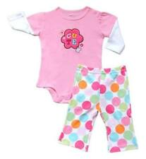 "Carter's ""Cute"" Bodysuit with Polka Pants Set  Size 9 months"