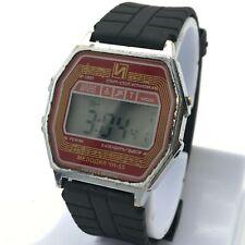 Vintage ELEKTRONIKA Integral CHN-55 Signal Chronograph Alarm Digital Wristwatch