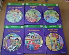 Tag School Phonemic Awareness Set 1- 6 Leap Frog Hardcover Book Classroom Series
