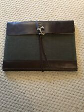 Brand New Timberland Tackhead Tablet Sleeve Brown Leather A11RB-768