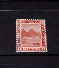 EGYPT 1914 4M RED ISSUE   FINE MINT  M//N/H