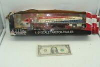 ERTL 1:64 JJ Keller Peterbilt 387 Tarped Load Tractor Trailer (very worn Box)