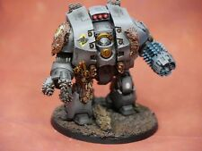 Warhammer 40k Leviathan Dreadnought Space Wolves ForgeWorld | Painted