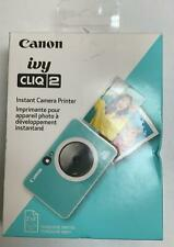 Canon - Ivy Cliq 2 Instant Film Camera - Turquoise - NEW (XR-4)