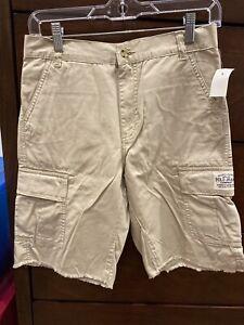 Ralph Lauren Boys Cargo Shorts Size 14 Khaki