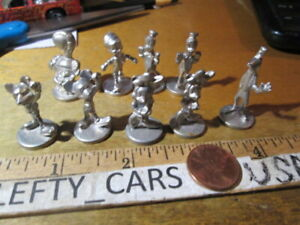 9 DISNEY TOKEN GAME MOVER Replacement small PIECE Monopoly Pawns