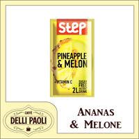 STEP, Frutti, 24 bustine da 8,5 g Preparato per bevanda PINEAPPLE & MELON