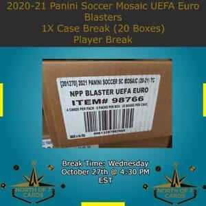 David Beckham 2020-21 Panini Soccer Mosaic UEFA Euro Blaster 1X Case Break