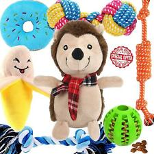 New listing Super Cute Puppy Toys Small Dogs 7 Pack Dog Iq Treat Ball Non-Toxic Plush Safe