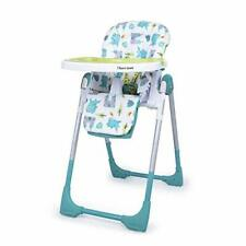 Cosatto Noodle 0+ Highchair - Compact, Height Adjustable, Foldable, Easy Clean,