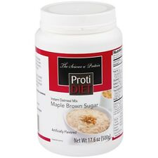 ProtiDiet - Maple-Brown Sugar Instant Oatmeal Mix Jar