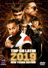 TOP 50 LATIN NEW YEARS 2019 MUSIC VIDEOS DVD ANUEL BAD BUNNY OZUNA DADDY YANKEE