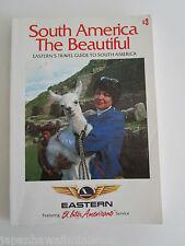Eastern Air Lines Travel Guide to South America 1970s Südamerika Reiseführer