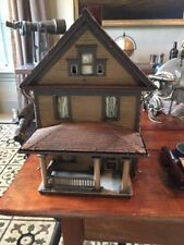 Early 1900 Wooden Vintage Salesman Sample House Model
