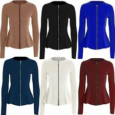 Zip Acrylic Long Sleeve Women's Jumpers & Cardigans