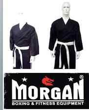DRAGON KARATE UNIFORM BLACK 10oz GI kids adult 000 00 0 1 2 3 4 5 6 7 PRE SHRUNK