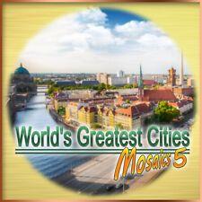 ⭐️ Die größten Städte der Welt - Mosaics 5 - PC / Windows - BLITZVERSAND ⭐️