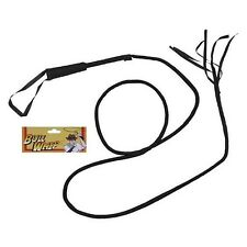 Adult Bull Whip Wip 2m 6ft Long Cowboy Indiana Dr Jones Ring Master Fancy Dress