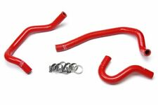 HPS Red Silicone Heater Hose Kit For Toyota 86-92 Supra Turbo Left Hand Drive