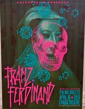 Franz Ferdinand - Fonda Theatre Los Angeles - April 16, 2013 Concert Poster