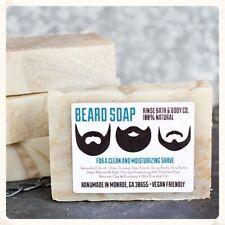 Beard Bar Facial Soap, Rinse Bath & Body, 4.5 oz