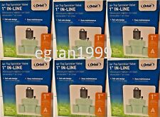 *Lot of 6* Orbit 57661 1-in Plastic Electric Inline Irrigation Valve New Fsh