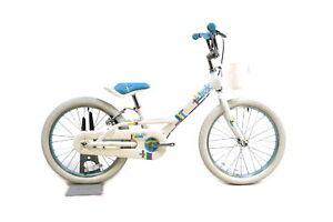 """Trek Mystic 20"""" Kid's Bike Single Speed V-Brake / Coaster White / Blue"""