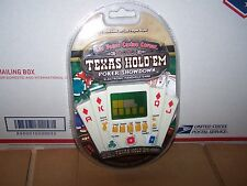 Texas Hold'Em Poeker Showdown Handheld Electronic Game, New In Package