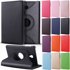 "Rotating Leather Flip Stand Case For Samsung Galaxy Tab A 7.0 8.0 9.7 10.1"" T580"