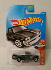 Rare Hot Wheels HW Hot Trucks Datsun 620 Black Double Window Error JDM