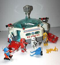 PLAYMOBIL 3536 3318 Playmospace- Station spatiale + robot- Vintage- TBE!