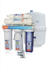 5 stages Undersink RO 100GPD reverse osmosis water filter system with SS Faucet
