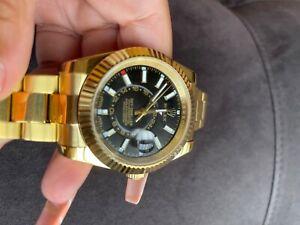 Rolex Sky-Dweller Men's Black Watch