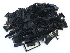 LEGO Black Bricks Mixed Bulk Lot 100+ Pieces GOOD VARIETY of Parts