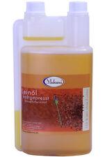Makana Leinöl 500 ml für Pferde Tiere kaltgepresst 100 % rein frisch ab Ölmühle