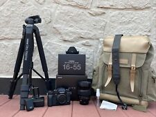 Fujifilm X-T3 With Fujinon XF 16-55mm Lens And Camera Bag And 70inch Tripod LOT