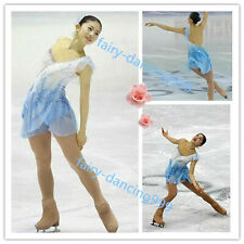 Elegance Ice Figure Skating Dress Baton Twirling Dance Dress Competition xx929