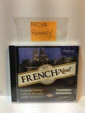 FRENCH NOW- Transparent Language (WIN/MAC CD-ROM)