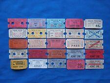 25 Vintage Movie Theatre & Drive-In Theatre Tickets Lot (Movie/Cinema) #5