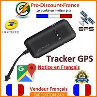 Tracker GPS Voiture Moto Camion 12V 24V Traceur GSM GPRS Localisation Vol Perdu